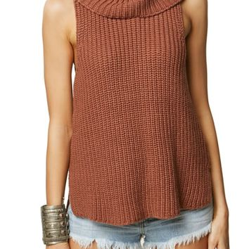 O'Neill Rafaeli Sleeveless Turtleneck Sweater | Nordstrom