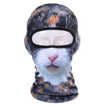 Calico Cat Ski Mask