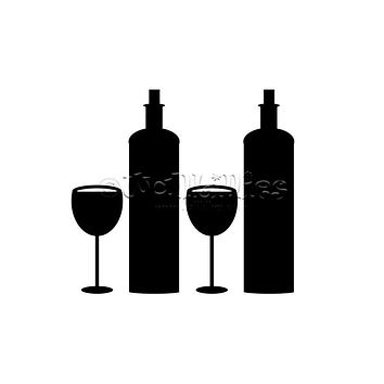 Wine Duo Decal