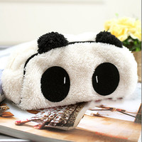 Soft Cute Plush Cosmetic Makeup Cartoon Storage Bag Pen Pencil Case Pouch