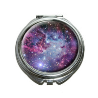 Fox Fur Nebula - Galaxy Space Compact Mirror