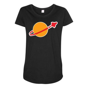 Lego Space Maternity Scoop Neck T-shirt