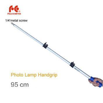 Falconeys Aluminum Extension Rod 95cm Handle Grip Handgrip 1/4' screw for Photo LED Lighting Lamp Studio Flash Speedlite
