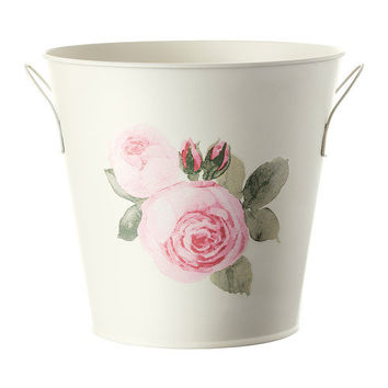 ROSÉPEPPAR Plant pot with handles - IKEA