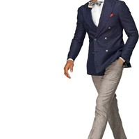 On Sale at SuitSupply: $99 Double-Breasted... | This Fits - Menswear, Style, Sales, Reviews
