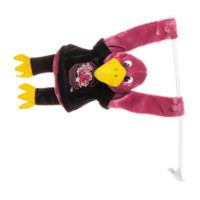 NCAA South Carolina Gamecocks 3D Mascot Car Flag