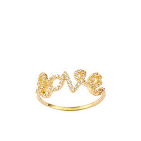 Love 14k Solid Gold Ring