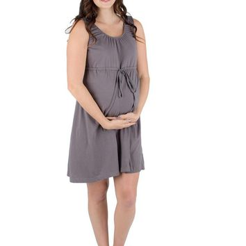 Glorious Grey 3 in 1 Labor / Delivery / Nursing Gown