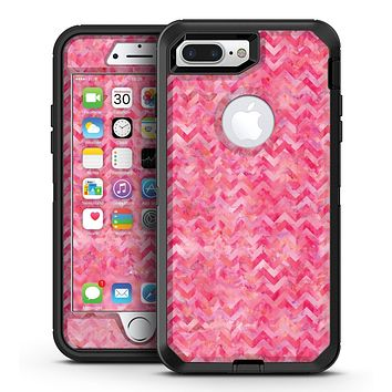 Pink Basic Watercolor Chevron Pattern - iPhone 7 Plus/8 Plus OtterBox Case & Skin Kits
