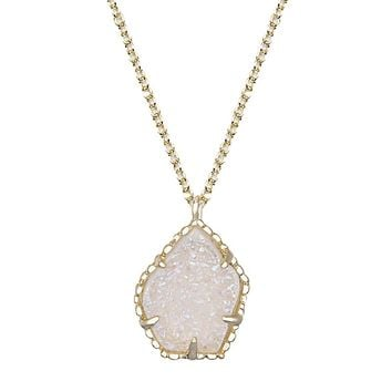 Catherine Necklace in Iridescent Drusy - Kendra Scott Jewelry