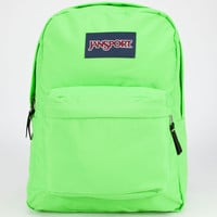 Jansport Superbreak Backpack Zap Green One Size For Men 23732551101