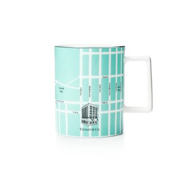 Tiffany & Co. - Manhattan Map Mug