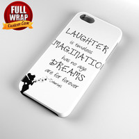 Tinkerbell Quote Full Wrap Phone Case For iPhone, iPod, Samsung, Sony, HTC, Nexus, LG, and Blackberry