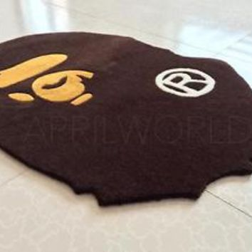 2017 Fashion A Bathing Ape Bape Carpet rug monkey home decoration door mat floor