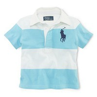 Ralph Lauren Childrenswear Infant Boys' Short Sleeve Rugby - Sizes 9-24 Months - Infant Boy (0-24 months) - BABY - Kids - Bloomingdale's