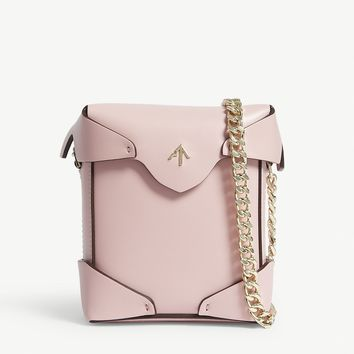 MANU ATELIER - Micro Pristine leather cross-body bag | Selfridges.com