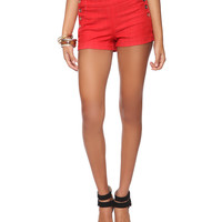 Nautical Colored Denim Shorts | FOREVER21 - 2015036228