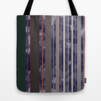 PATTERN LINES Tote Bag by IN LIMBO ART | Society6