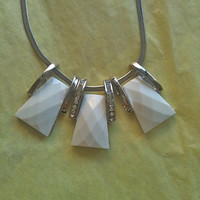 Necklace in silver by Twilighthandcraft on Etsy