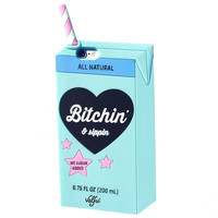 Bitchin & Sippin 3D iPhone 6+/6S Plus Case (BLUE)