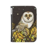 Night is full of wonders - barn owl kindle keyboard case from Zazzle.com