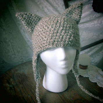 Kitty ears Beanie
