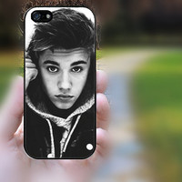 ipod 5 case,ipod 4 case,S3 mini,S4 mini,z10 case,q10 case,iphone 4 case,iphone 4s case,cute iphone 4 case--justin bieber,in plastic,silicone