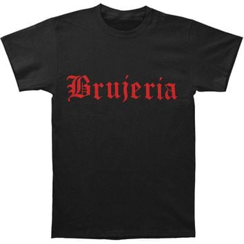 Brujeria Men's  Logo T-shirt Black