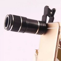 Universal 12X Optical Zoom 20 mm Phone Camera Lens