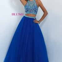 Blush 5500 Two-Piece Prom Dress