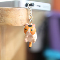 SALE30-70%OFF: Cat hanging iPhone 5 / 5s / 4s / 4 Plug . Dust Plug . Phone Plug . Phone Charm cats, Kawaii, Lovely, Girly, Cat