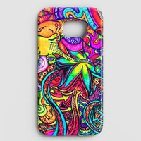 Psychedelic Trippy Art Samsung Galaxy S7 Case
