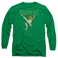 DC/POISON IVY - L/S ADULT 18/1 - KELLY GREEN - SM