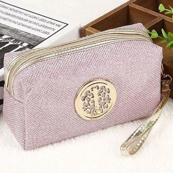 High quality Large Capacity Travel Make up Bag Portable Cosmetic Bag Purse Pouch Sac a Main Brand Make Up Pouch In 2017-3