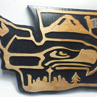 Seattle Seahawks Inspired Sign