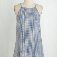 Mid-length Sleeveless What Gust Be, Must Be Top