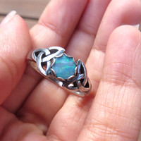 Reserved Custom Celtic Ring For Paula