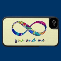 You and Me for Infinity Phone Case from Zazzle.com
