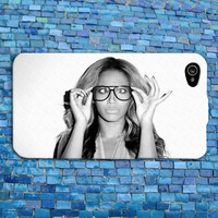 Cute Beyonce iPhone Case Funny Phone Cover Music Cell Phone Case Nerdy Glasses Hot Case iPhone 4 iPhone 5 iPhone 4s iPhone 5s iPhone 5c Case