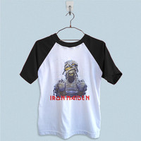 Raglan T-Shirt - Iron Maiden