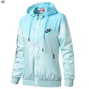 NIKE 2019 new thin section breathable anti-fall women's sun protection clothing #2