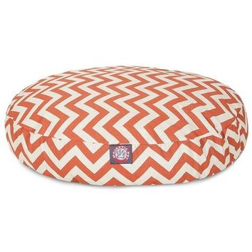 Chevron Round Dog Bed by Majestic Pet Products