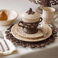 GG Collection - Ceramic Dinnerware - Horchow
