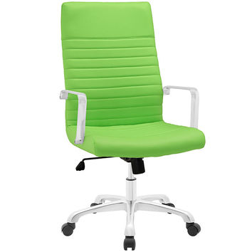Finesse  High back Office Chair Bright Green