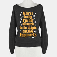 Outside Hogwarts (Black )
