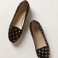 Glimmer Dot Loafers by Anniel Black Motif