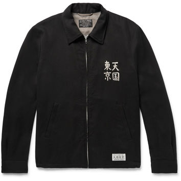 Wacko Maria - Embroidered Twill Jacket