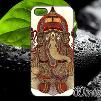 Ganesha Lord Of Success,Accsessories,Case,Cell Phone,iPhone 4/4S,iPhone 5/5S/5C,Samsung Galaxy S3,Samsung Galaxy S4,Rubber-31/12/D-20