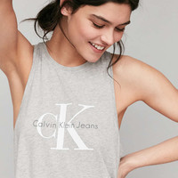 Calvin Klein Racerback Tank Top - Urban Outfitters