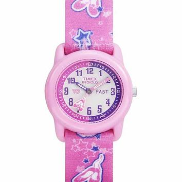 Kids Youth Analog PInk Ballet Watch